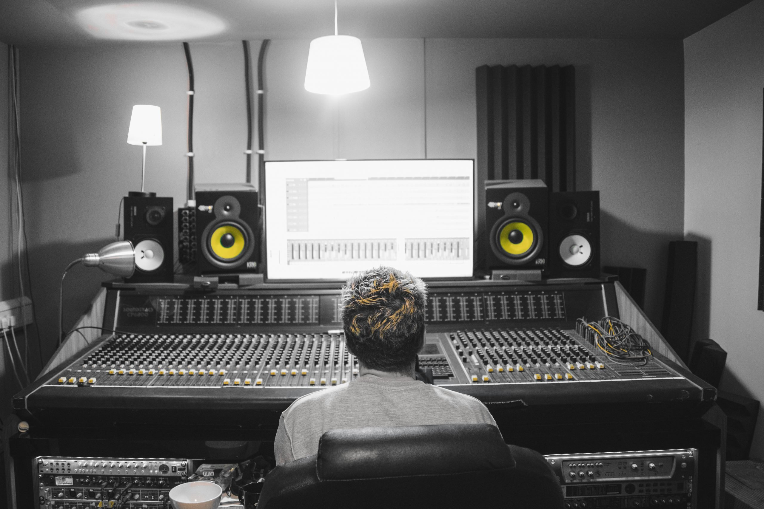 YELLOW HAT STUDIOS LONDON BAND RECORDING